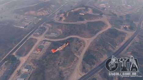 GTA 5 P-51D Mustang sétima screenshot