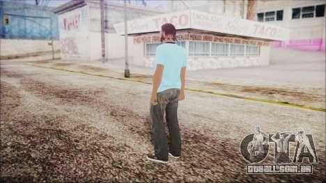 GTA Online Skin 52 para GTA San Andreas terceira tela