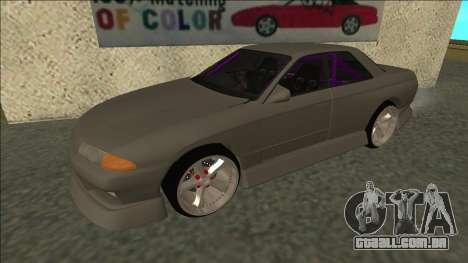 Nissan Skyline R32 Drift Sedan para GTA San Andreas