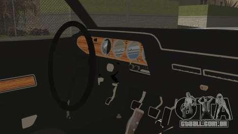 Dodge Challenger RT para GTA San Andreas vista direita