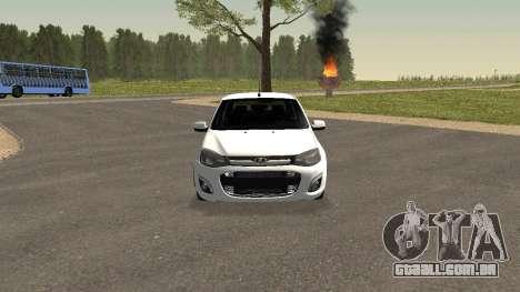 Lada Granlina para GTA San Andreas esquerda vista