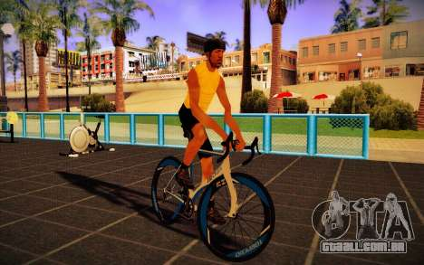 GTA V Tri-Cycles Race Bike para GTA San Andreas traseira esquerda vista