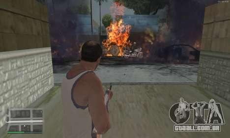 Meteors Mod para GTA San Andreas terceira tela