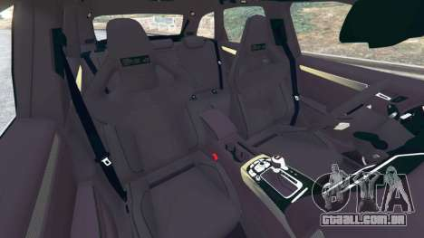 GTA 5 Audi RS4 Avant [LibertyWalk] vista lateral direita