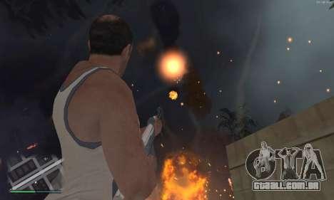 Meteors Mod para GTA San Andreas segunda tela