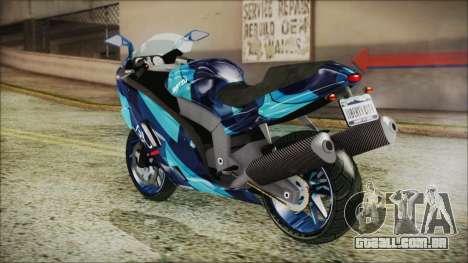 Hakuchou - The Ballad Of Gay Tony para GTA San Andreas esquerda vista
