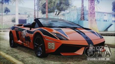 Lamborginhi Gallardo LP-570 Spyder HxH Neferpito para GTA San Andreas