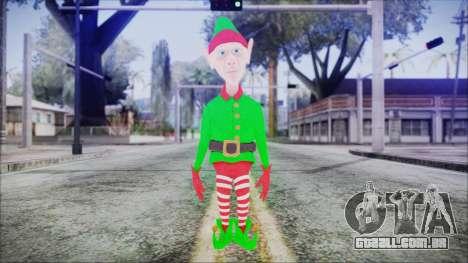 Christmas Elf v2 para GTA San Andreas segunda tela
