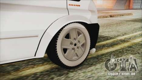 Ford Transit 350L para GTA San Andreas traseira esquerda vista