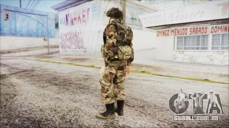 World In Conflict US Marine para GTA San Andreas terceira tela
