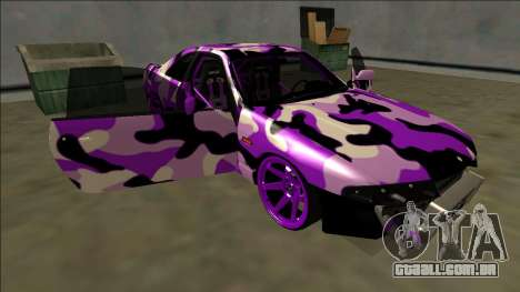 Nissan Skyline R33 Drift para GTA San Andreas vista inferior