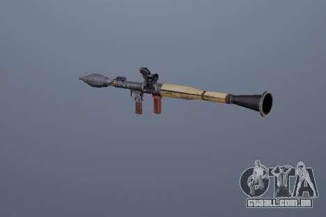 RPG-7 para GTA San Andreas segunda tela