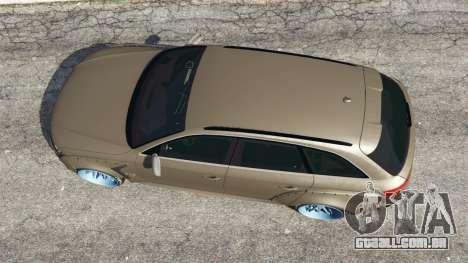 GTA 5 Audi RS4 Avant [LibertyWalk] voltar vista