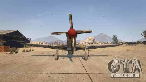 GTA 5 P-51D Mustang quarto screenshot