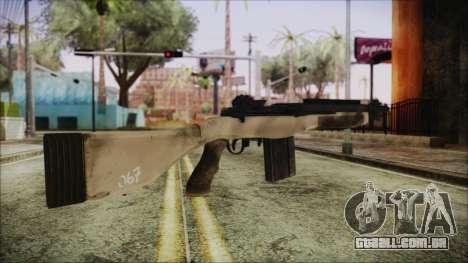 M308 PayDay 2 para GTA San Andreas segunda tela