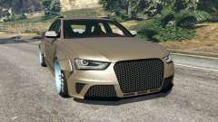 Audi RS4 Avant [LibertyWalk] para GTA 5