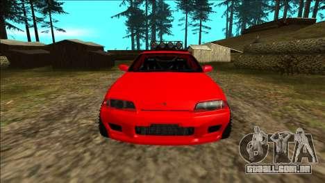 Nissan Skyline R32 Rusty Rebel para GTA San Andreas interior