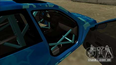Lexus IS300 Drift Blue Star para o motor de GTA San Andreas