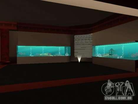 O oculto interiores do casino os Quatro dragões para GTA San Andreas segunda tela
