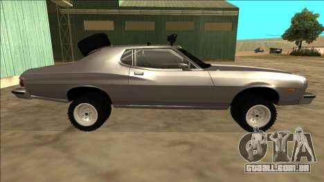 Ford Gran Torino Rusty Rebel para GTA San Andreas