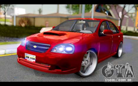Chevrolet Optra 2007 para GTA San Andreas