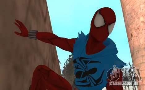 Scarlet Spider Ben Reilly por Robinosuke para GTA San Andreas
