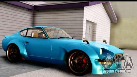 Nissan Fairlady 240Z Rocket Bunny para GTA San Andreas esquerda vista