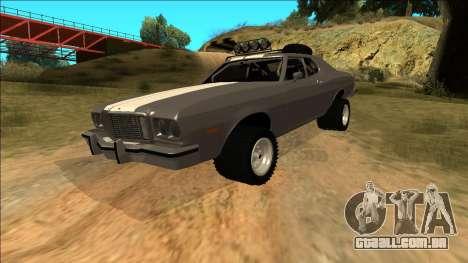 Ford Gran Torino Rusty Rebel para o motor de GTA San Andreas