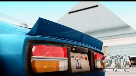 Nissan Fairlady 240Z Rocket Bunny para GTA San Andreas vista traseira