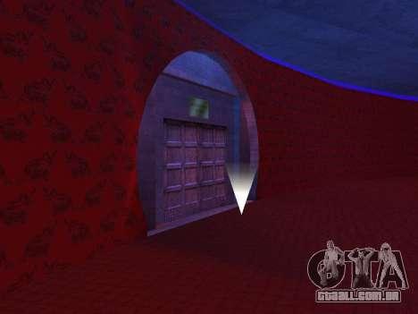 O oculto interiores do casino os Quatro dragões para GTA San Andreas terceira tela