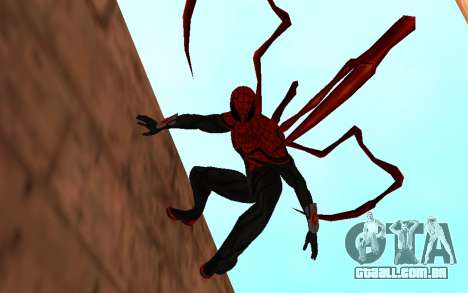 Superior Homem-Aranha por Robinosuke para GTA San Andreas segunda tela