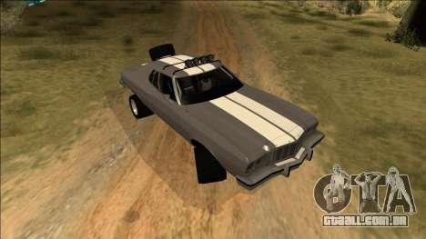 Ford Gran Torino Rusty Rebel para GTA San Andreas vista inferior