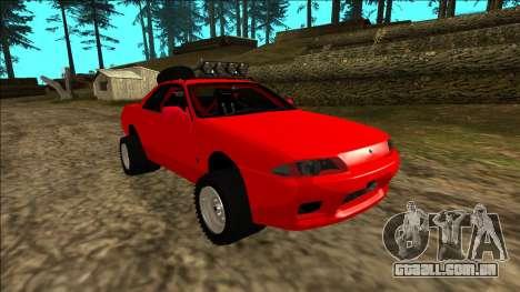 Nissan Skyline R32 Rusty Rebel para o motor de GTA San Andreas