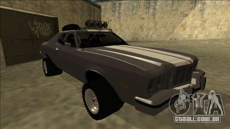 Ford Gran Torino Rusty Rebel para GTA San Andreas esquerda vista
