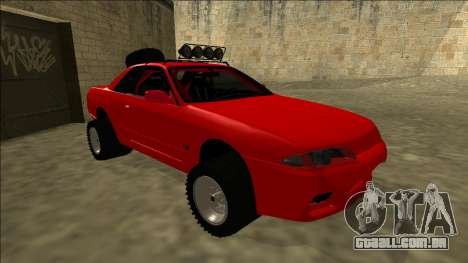 Nissan Skyline R32 Rusty Rebel para GTA San Andreas esquerda vista