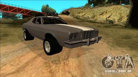 Ford Gran Torino Rusty Rebel para as rodas de GTA San Andreas