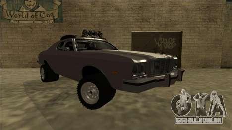 Ford Gran Torino Rusty Rebel para GTA San Andreas vista direita