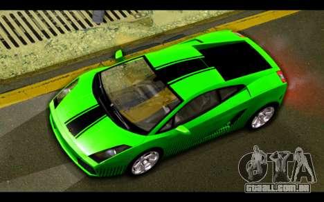 Lamborghini Gallardo para o motor de GTA San Andreas