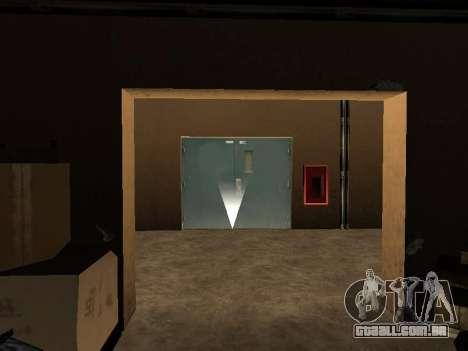 O oculto interiores do casino os Quatro dragões para GTA San Andreas por diante tela