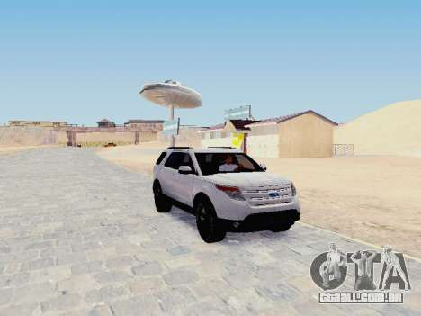 Ford Explorer 2013 Semi-Tuning para GTA San Andreas