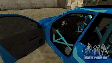 Lexus IS300 Drift Blue Star para as rodas de GTA San Andreas