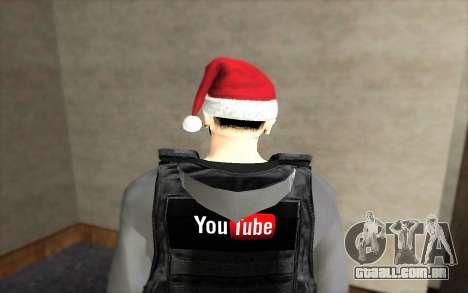 Novo colete à prova de balas para GTA San Andreas segunda tela