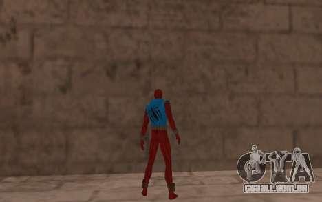 Scarlet Spider Ben Reilly por Robinosuke para GTA San Andreas por diante tela