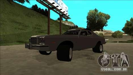 Ford Gran Torino Rusty Rebel para GTA San Andreas vista superior