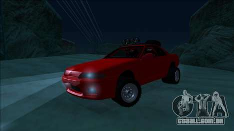 Nissan Skyline R32 Rusty Rebel para GTA San Andreas vista superior