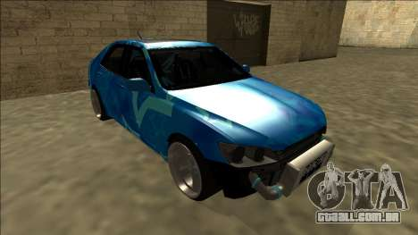 Lexus IS300 Drift Blue Star para GTA San Andreas