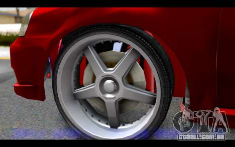 Chevrolet Optra 2007 para GTA San Andreas traseira esquerda vista