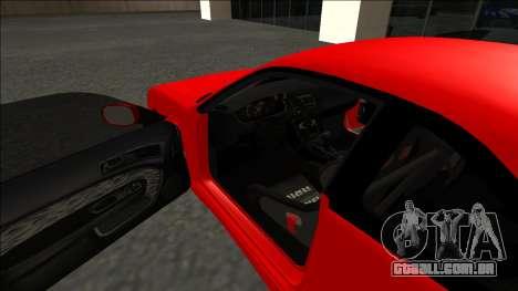 Nissan Silvia S14 Drift para GTA San Andreas vista superior
