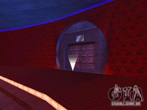 O oculto interiores do casino os Quatro dragões para GTA San Andreas