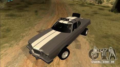 Ford Gran Torino Rusty Rebel para GTA San Andreas interior